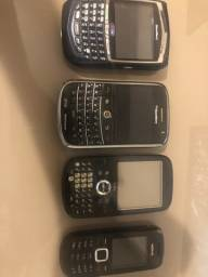 Vendo 4 celulares antigos