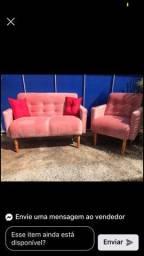 Título do anúncio: Jogo sofá ,poltronas, sofá 2 lugares