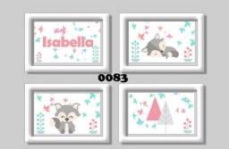 Quadros personalizados bebê