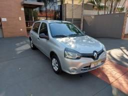 Renault Clio Expression 1.0 8V 60cv Prata
