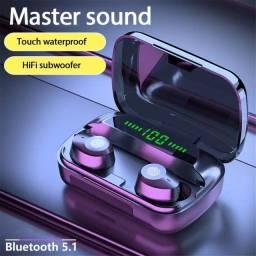 Título do anúncio: Fone De Ouvido M5 Tws Bluetooth Anti-ruído V5.1 Original