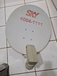 Título do anúncio: Vendo antena parabólica