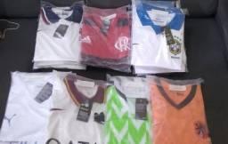 Título do anúncio: Camisas de times do mundo!