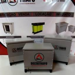 Autotransformador trifásico 30kVA a seco - 220v/380v+N caixa IP21 Garantia 24 meses
