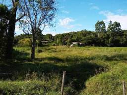 Terreno de esquina no centro de Caraá frente ao calçamento
