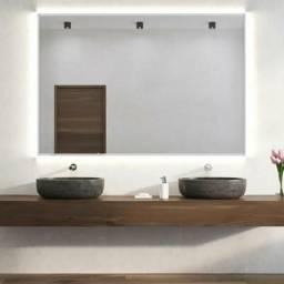 Espelho Bisotado (90 cm x 70 cm x 3 mm) - Na EMBALAGEM