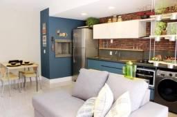 Apartamento tipo studio com 1 dormitório e 1 vaga no bairro Bom Fim