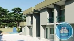 Lançamento/casas duplex 02 e 03 quartos em Coroa Vermelha,litoral da Bahia.