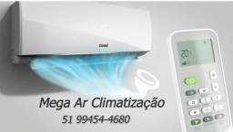 Instalação de ar condicionado Split 250.00