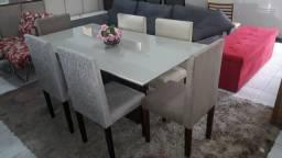 Mesa usada semi nova de 6 lugares