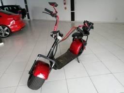 Scooter Elétrica 1000W Vermelha Bull Motors