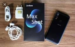 Celular MaxShot novo na caixa ótima oportunidade