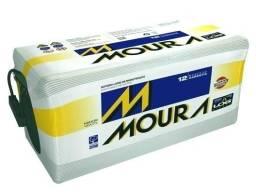 Bateria 100Ah amperes Moura original 15 meses garantia 700cca Promoçao