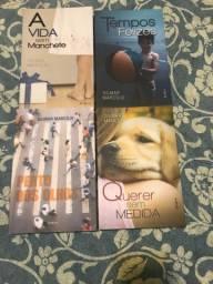 Lote 4 livros Gilmar Marcilio