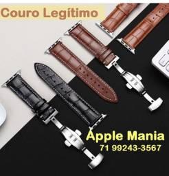 Pulseiras em Couro para Apple Watch Mod.Hermé Luxo*Várias Cores*Fecho Epecial