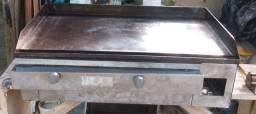 Chapa industrial funciona perfeitamente 80 centímetro de comprimento i