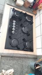 Cooktop 5 bocas + Móvel sob medida