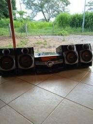 <br>Mini System SONY MP3 SEMI NOVO