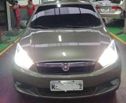 Fiat Grand Siena atractive 1.4 flex evo 4 portas completo
