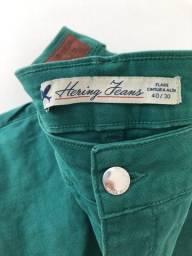 Calça HENRING - verde - tamanho 40