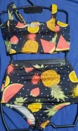 Título do anúncio: Hot Pants/Biquíni G frutinhas