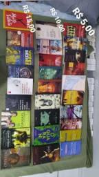 Livros diversos! Vários títulos!