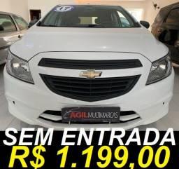 Chevrolet Onix 1.0 Joy Único dono 2018 Branco