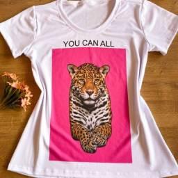 Título do anúncio: Kit Com 2 Blusinhas Tshirts Feminina Tamanho G