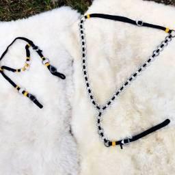 Traia de Argolinhas Inox para Burros e Mulas Promoção