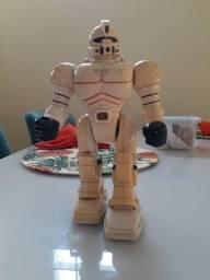 Robô de brinquedo antigo 1994
