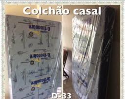 COLCHÃO CASAL D-33 - ORTHONOBRE