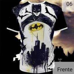 """Camisa Personalizada """"Batman"""" c/ Estampa Total"""