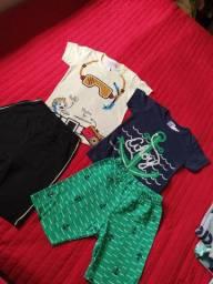 Lote de roupas infantis novas para revenda