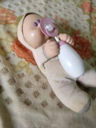 Boneca antiga dos anos 90 Baby Barriguinha marca grow
