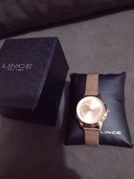 Lince relógio feminino