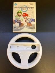 Mario Kart p/ Wii c/ volante