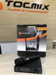Microfone sem fio kadosh profissional produto novo garantia 90 dias