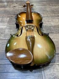 Violino 4/4 Rolim premium Serie limitada madeira Araucaria Sombrear Brilho Orquestra Ccb