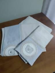 Jogo de lençol mini berço