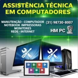 Concerto de computadores, notebooks, tablets