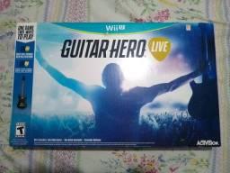 Guitarra + Jogo - Nintendo Wii U