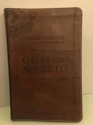 Vendo livro refugio secreto capa luxo