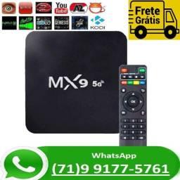 TvBox 4k Mx9 5G Android 10.1 8GB 64GB Smart Tv Box (NOVO)