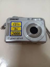 Título do anúncio: Câmera digital Sony Cyber Shot DSC-S650 (Com Defeito)