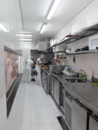 Cozinha completa toda em inox. Industrial