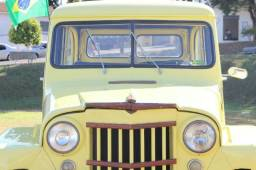Ford F-75. Ano 1959. Jeep rural willys bicudinha