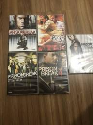 DVDs série Prision Break