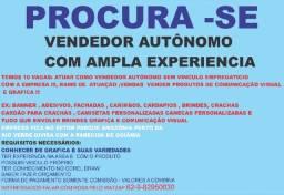 Procura se vendedor autonomo para trabalhar com vendas externas