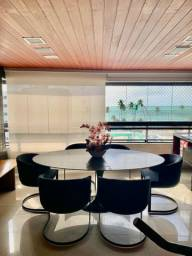 Apartamento com 4 suítes na 1 quadra da praia de jatiuca