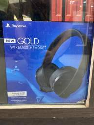 Headset playstation gold